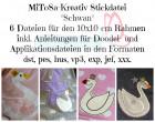 MiToSa-Kreativ Stickdatei Schwan 10x10cm
