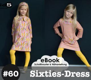 Ebook Sixties-Dress  / Mädchenkleid  12 Größen!! Gr. 86 - 152