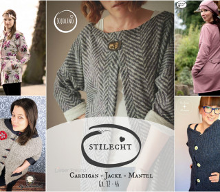 Ebook Cardigan/Jacke/Mantel STILECHT - Gr. 32 - 46