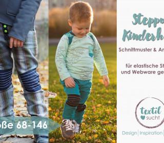 Ebook - Slim Fit Kinderhose  STEPPO Größe 68 - 146