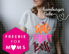 Plotterdatei – Wife Mom Boss. – Hamburger Liebe - Freebie