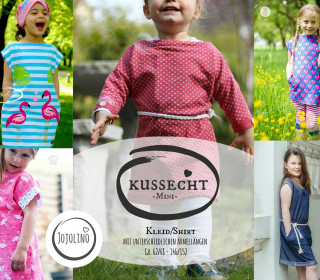 Ebook - Kussecht Mini - Shirt/Kleid Gr. 62/68 - 146/152