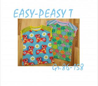 Easy-Peasy T, Shirt & Kleid in Gr. 86-158