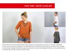 Ebook - FRAU YOKO - Bluse mit Kellerfalte - Größe XS-XL