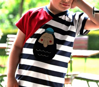 b.e.ShirtWrap Boyz - Gr. 80 bis 152 - inkl. Plottvorlagen