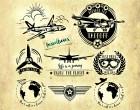Plotterdatei Serie VINTAGE AIRPLANE - FLUGZEUGE Fusselfreies