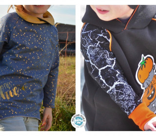 eBook Rag'n'Bone Kids - Unisex Oversize Pulli