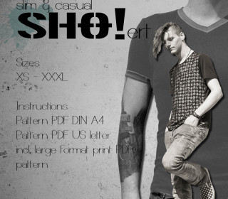 menSHO!ert slim & casual - a basic shirt pattern