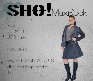 SHO!Rock - a pleated skirt