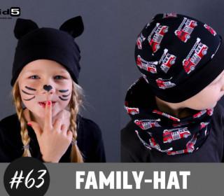 eBook Family-Hat / runde Mütze Nähanleitung und Schnittmuster