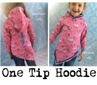 ebook - One Tip Shirt / Hoodie Gr. 74 - 164 - MiToSa-Kreativ Schnittmuster Nähanleitung DIN A4 & DIN A0