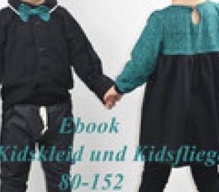 Ebook Kidskleid und Kidsfliege  80-152