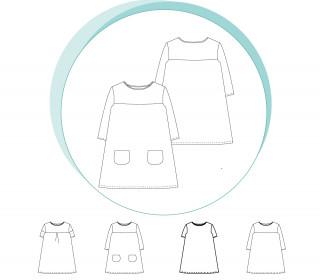 Ebook - A-Linien-Kleid LONDON