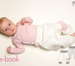 Schnittmuster Babyhose Wendehose Bebe ebook pdf Gr. 56-98