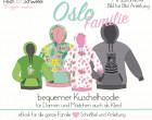 """Ebook Hoodie """"Oslo"""" für die ganze Familie in A4 und A0 (Einzel- und Mehrgrößenschnitt) Kombibook"""