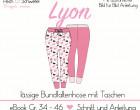 Ebook - Hose LYON - Größe 34 bis 46