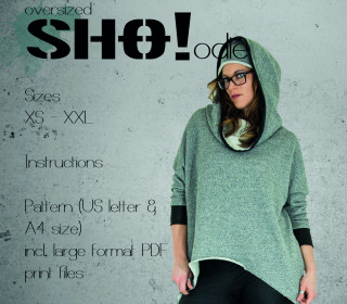 oversize SHO!odie - an oversized cut hoodie