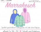 """Ebook Frühlingsjacke """"Marrakesch"""" Damen Gr. 34 – 52 in A4 und A0 (Einzel- und Mehrgrößenschnitt)"""