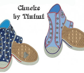 Chucks Stickdatei 130x180