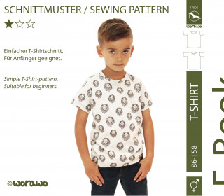 E-Book T-Shirt Kinder 86 - 158