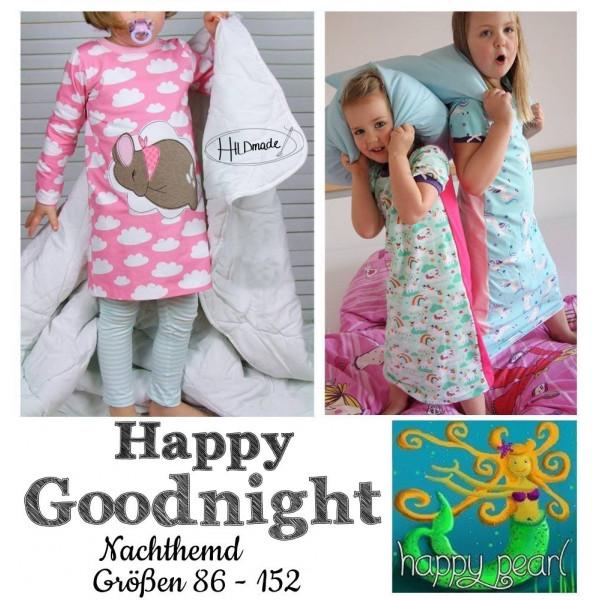 EBook - Nachthemd HAPPY GOODNIGHT GR. 86 - 152 von Happy Pearl
