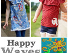 Ebook - Shirt / Tunika HAPPY WAVES    Gr. 74 - 152  Happy Pearl