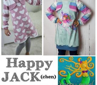 EBook - Tunika HAPPY JACK(chen) Gr. 74-152 von Happy Pearl