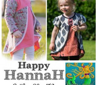 Ebook - Tunika HAPPY HANNAH Gr. 86 - 152 von Happy Pearl