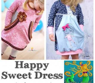 EBook -  Tunika HAPPY SWEET DRESS  Gr. 86-152 von Happy Pearl