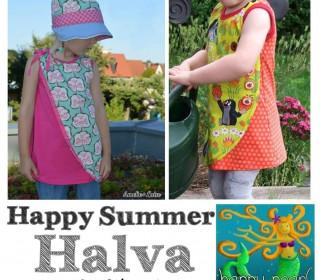 EBook - Tunika HAPPY SUMMER HALVA Gr. 74-152 von Happy Pearl