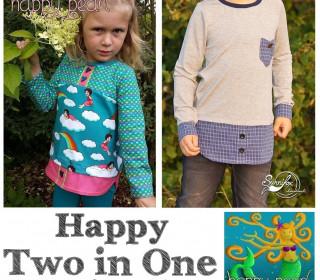 Ebook  - Lagenlookshirt HAPPY TWO IN ONE  Gr. 86 - 152  von Happy Pearl