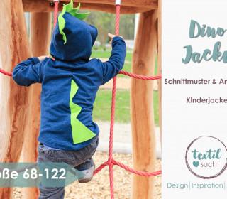 Dino Jacke - Schnittmuster & Nähanleitung