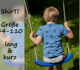 eBook ShirTi Gr. 44-110 Basic-Shirt kurz/lang