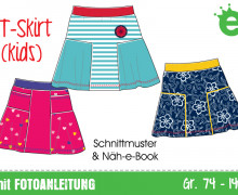 Ebook - T-Skirt Kids Gr. 74 - 140