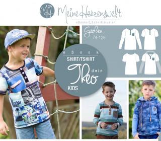 # 46 eBook - dein THEO Kids - Shirt - Größe 74-128