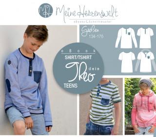 # 47 eBook - dein THEO Teens - Shirt - Größe 134-176