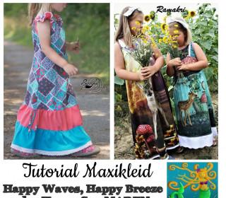 TUTORIAL Happy Maxikleid von Happy Pearl