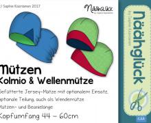 eBook Mützen Kolmio & Wellenmütze - Kopfumfang 44 - 60
