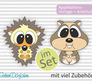 SET Applikationsvorlage Igel + Hamster eBook