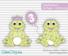 Applikationsvorlage Frosch Egon eBook