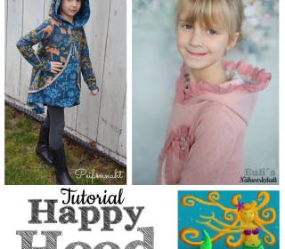 Tutorial Happy Hood von Happy Pearl