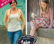 Kombi-Ebook Boho Bolero Kinder 110 -164  & Damen 32-42