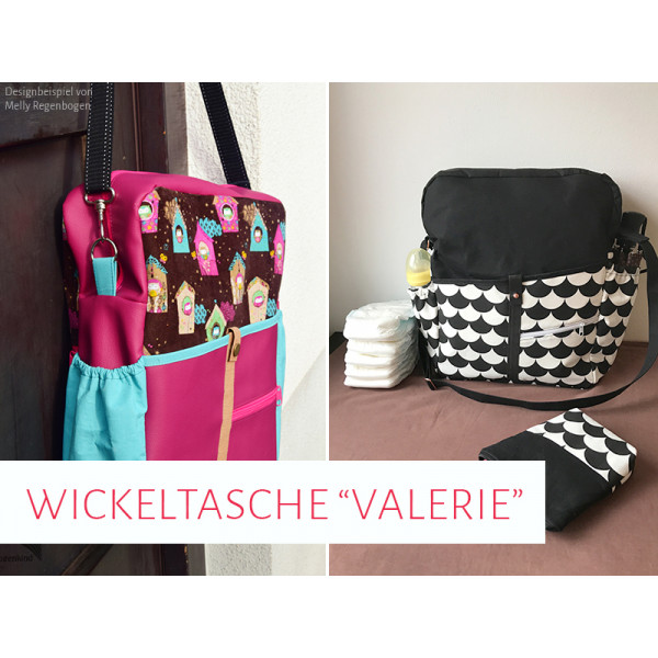 wickeltasche valerie mit vielen extras. Black Bedroom Furniture Sets. Home Design Ideas