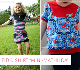 "Ebook - Kleid & Shirt ""Mini-Mathilda"" Gr. 92 - 164"