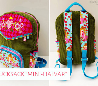 "Ebook - Kinder-Rucksack ""Mini-Halvar"""