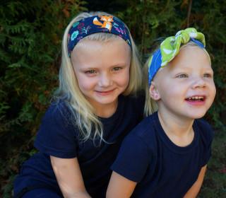 Knoti Knotenband, Stirnband/Haarband für Kinder und Erwachsene KU 46 -58
