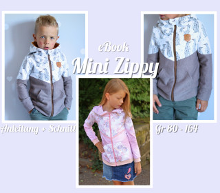 Kinder Sweat Jacke Mini Zippy inkl A0