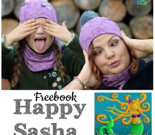 FREEBOOK Happy Sasha  Mütze & Halsssocke KU 40-60cm von Happy Pearl