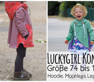 Luckygirl Hoodie/Leggings/Baggy Kombi-Ebook by From heart to needle