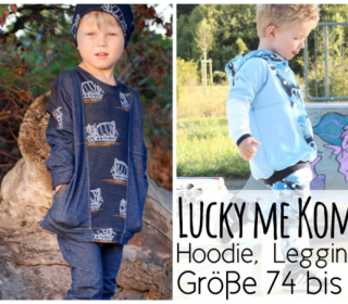 Luckyme/Leggings/Baggy Kombi-Ebook by From heart to needle